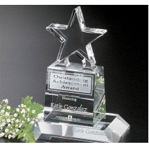 Champion Pedestal Star 6""