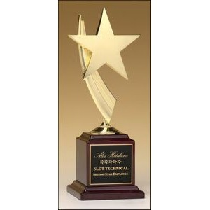 "Star Award w/Rosewood Base (13"")"