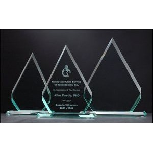 "Diamond Series Glass Award (5""x7"")"