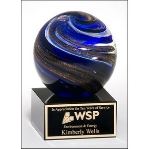 Glass Globe Award w/Glass Base