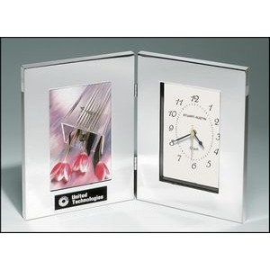 "Combination Clock/Photo Frame (4""x6"")"
