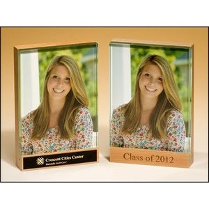 "Maple Wood Picture Frame (4""x6"")"